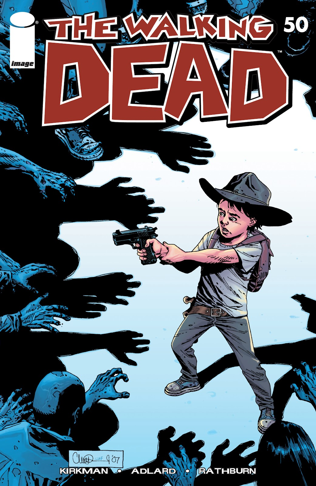 The Walking Dead issue 50 - Page 1