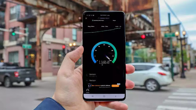 5G Test In Chicago Us