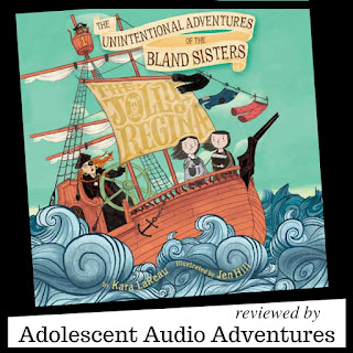 Adolescent Audio Adventures reviews The Jolly Regina