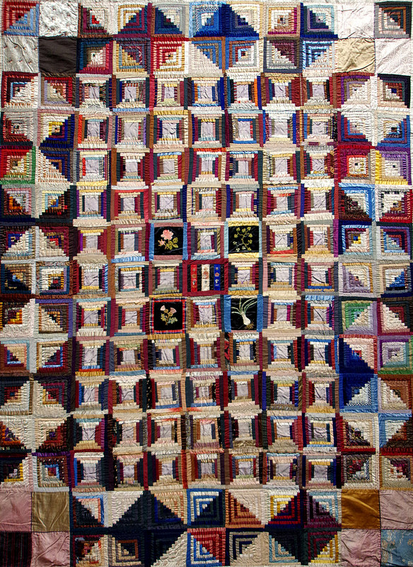 Log Cabin Quilt by Jeannette Dick from the collection of Dr Annette Gero | Making the Australian Quilt