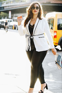 Blazers fashion ideas for curvy girls