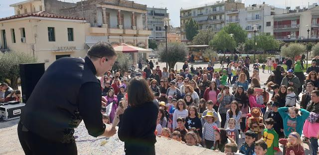 Με επιτυχία το αποκριάτικο πάρτι για παιδιά από την ΚΕΔΑΜ στο Άργος
