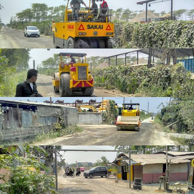 Jalan Alternatif UNIMED - Benteng Hilir Titi Sewa, Jalan Ismail Harun akhirnya di perbaiki