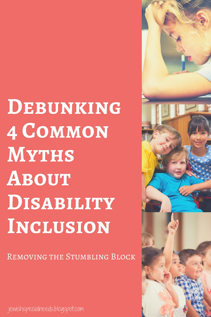 Debunking Myths in Disability Inclusion; Removing the Stumbling Block