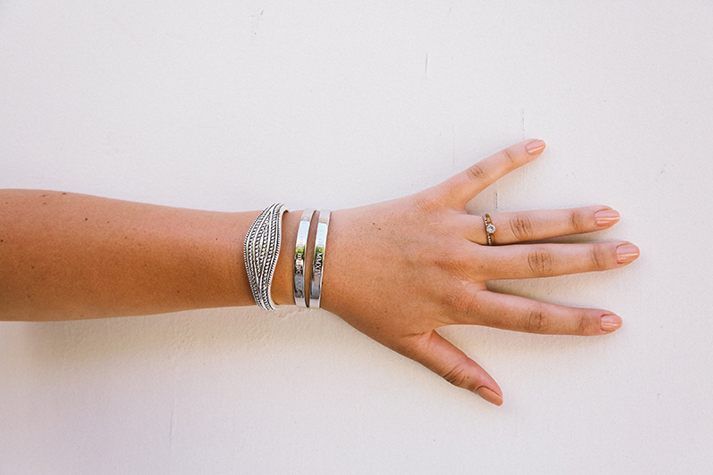 my beloved collection, silver jewelry, silver cuff bracelets, engraved bracelets