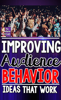Mrs. King's Music Room: Tips for Improving Audience Behavior at Your Next Performance.  How can you keep students and parents engaged and quiet?  Try some of these tips at your next concert or program for the best audience ever.