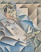 Cubismo Analítico - 'Retrato de Pablo Picasso' de Juan Gris