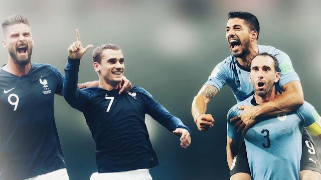 يلا شوت | مشاهدة مباراة فرنسا وأوروجواي اليوم في كأس العالم 2018 بث مباشر بدون تقطيع