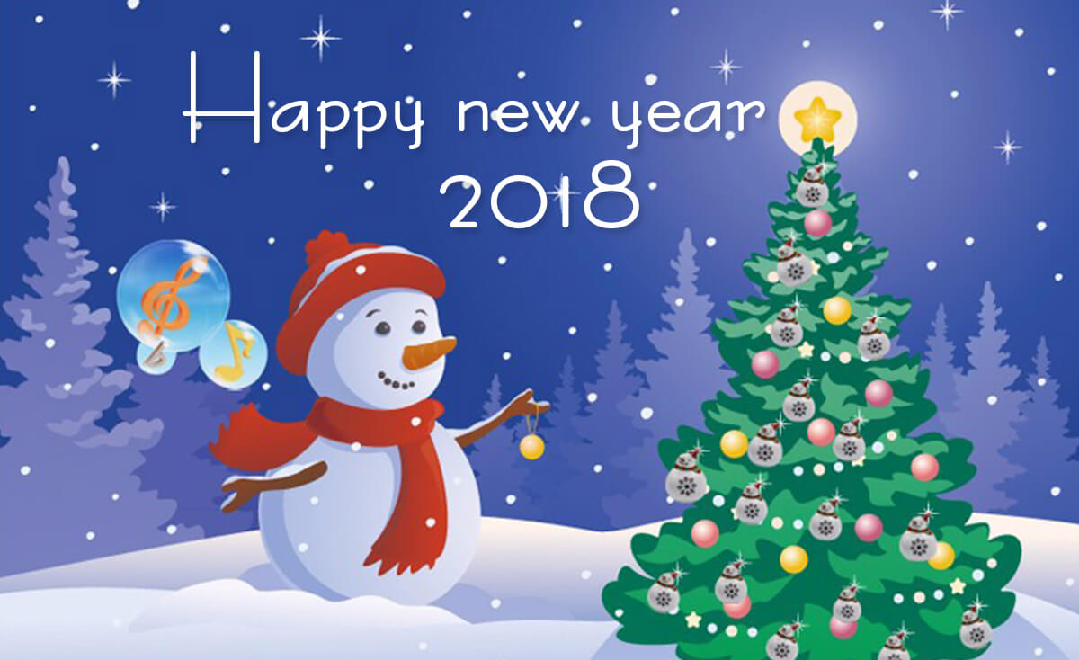 new year 2018 wallpaper and sms happy new year 2018 greetings cards