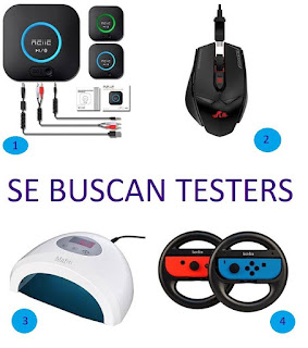 Riitek Busca testers