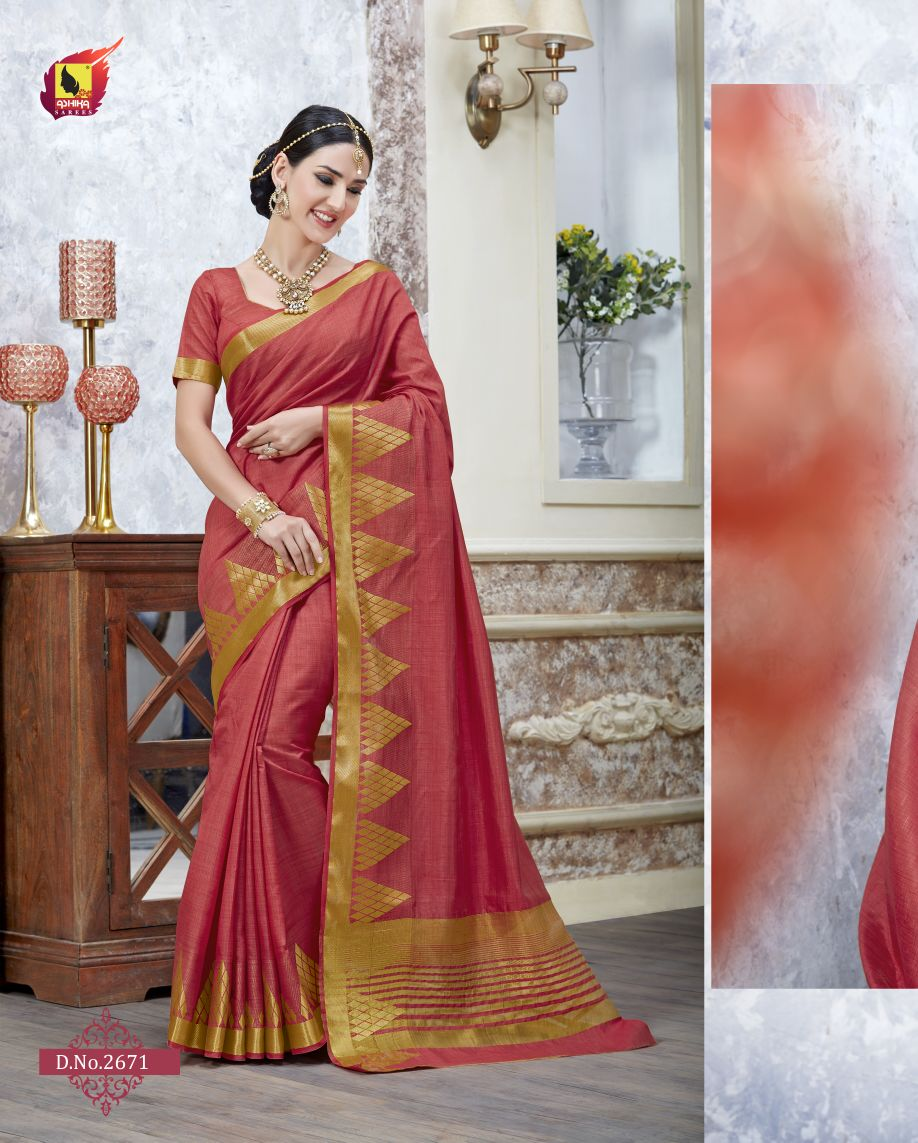Tulsi 4 – Latest New Cotton Silk Designer Saree Buy Online