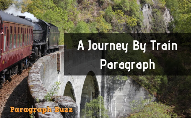 A Journey by Train: Paragraph