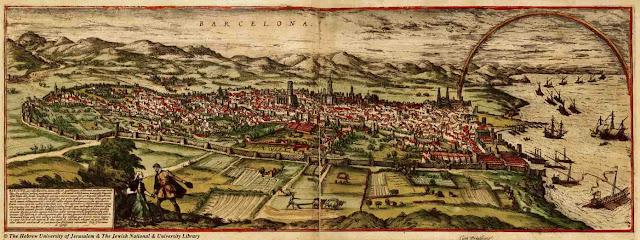 Barcelona en el siglo XVI y la historia del Derecho