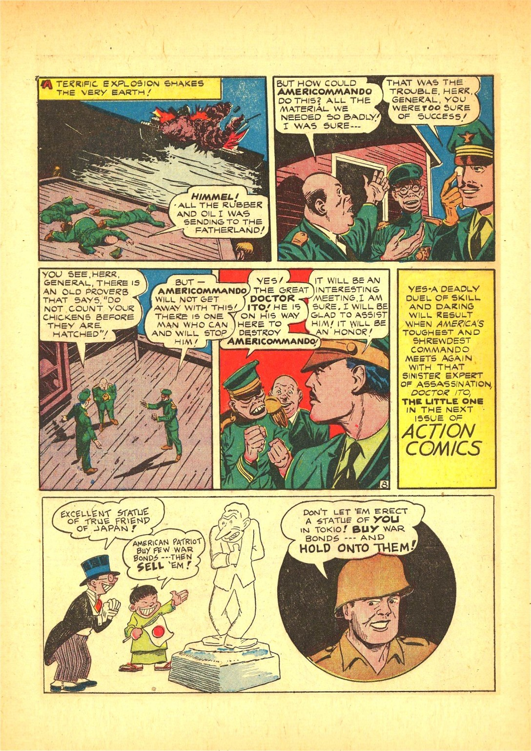 Read online Action Comics (1938) comic -  Issue #72 - 47