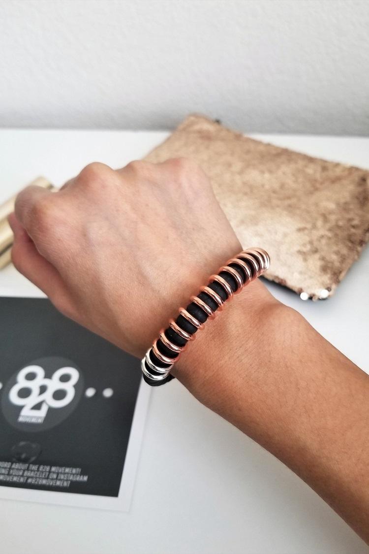 Budget Fashion: 828 Movement Bracelet (plus Giveaway!) 3