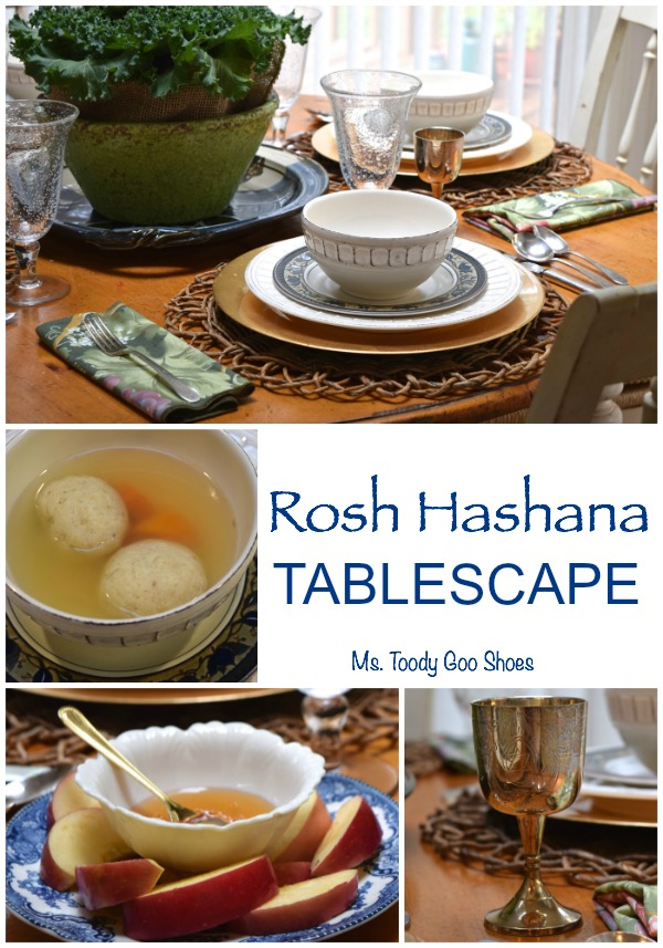 Rosh Hashana Tablescape - Ms. Toody Goo Shoes