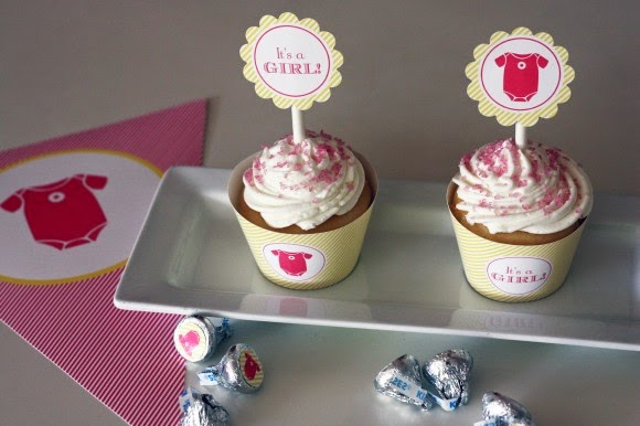 It´s a Girl! Free Printable Party Kit.