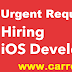 Urgent Requirement for IOS Developer, Walk in Drive