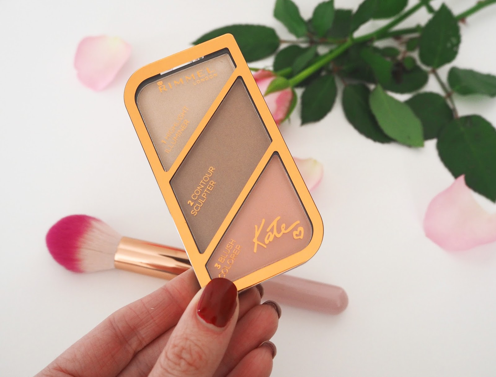 Loves List: February, Katie Kirk Loves, UK Blogger, Beauty Blogger, Make Up Blogger, Beauty Review, Rimmel London, Rimmel Contour Sculptor Palette, Pink Products, Pink Make Up