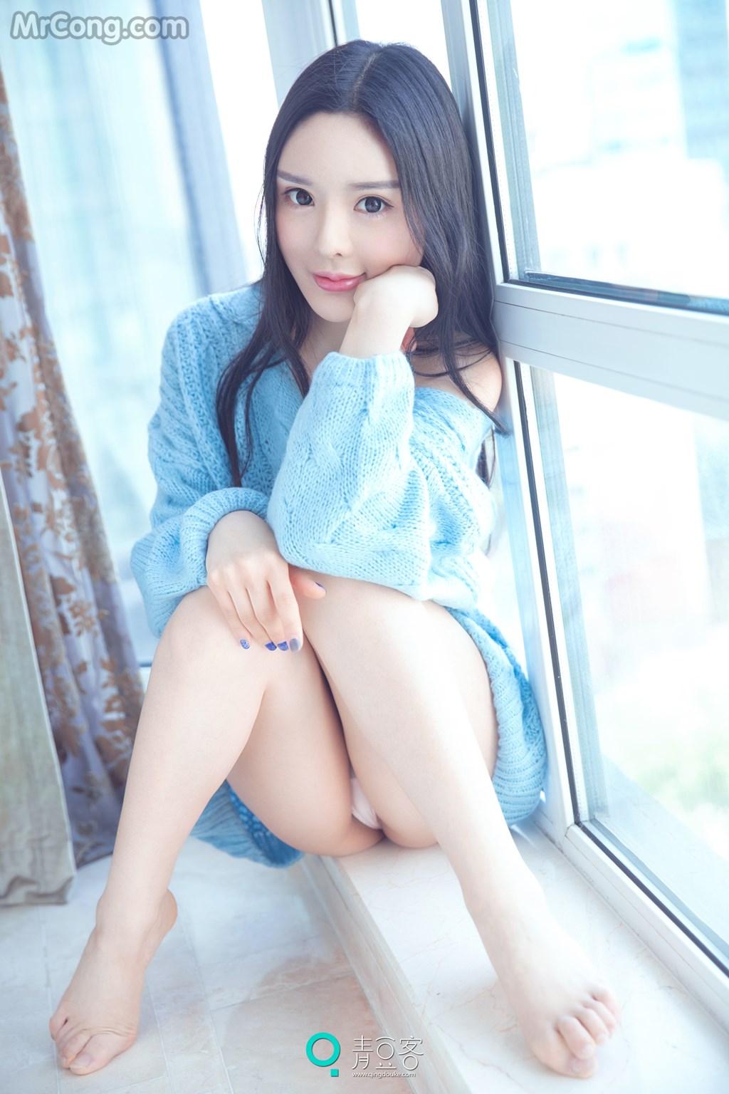 QingDouKe 2017-05-13: Model Xiao Di (晓迪) (55P)