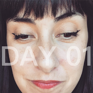 Learning How to Apply Liquid Liner (Day 1) :: 31 Days of Liquid Eyeliner