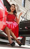 Hansika Motwani in lovely Red Mini Dress Dance Stills 06 .xyz.jpg
