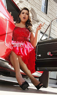 Hansika Motwani in lovely Red Mini Dress Dance Stills 06 .xyz.jpg
