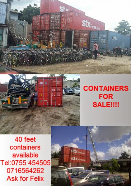 40 feet Containers for Sale!