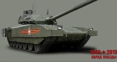 Armata tank Rusia
