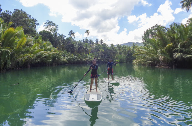 stand up paddle tours bohol