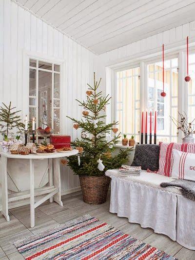 48 Swedish Christmas Decorating Ideas Hello Lovely