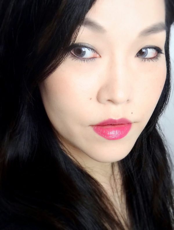 L'Oreal Glossy Balm Pink Me Up FOTD