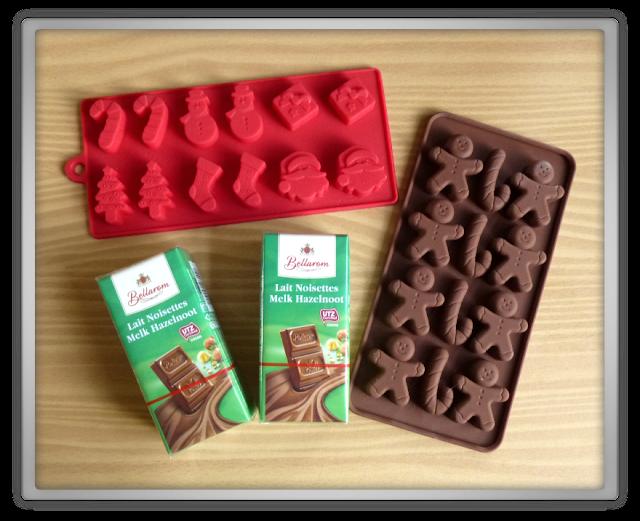 DIY: Budget kerstchocolaatjes maken jumbo lidl haul shoplog