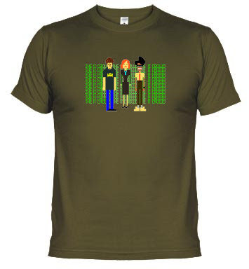 Camiseta The IT Crowd (Los Informáticos)