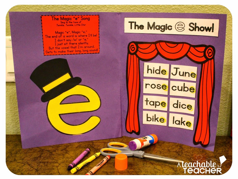 A Teachable Teacher Teaching Cvce With Magic E
