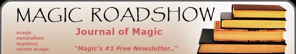 The Magic Roadshow's Blog....