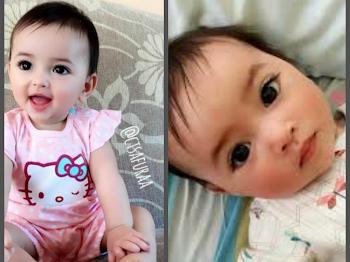 Seorang Lagi Baby Kacukan Selepas Si Cantik Dhuhaa Sophea