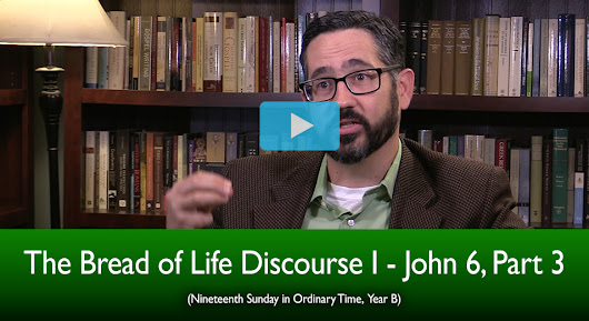The Bread of Life Discourse I - John 6, Part 3 (The Mass Readings Explained)