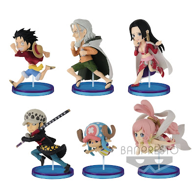 ONE PIECE WCF Figure -HISTORY RELAY 20TH- vol.4