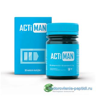 Актимен - поддержка мужского организма