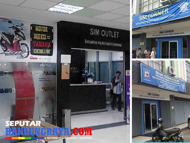 Jam Layanan SIM Outlet dan SIM Corner Polrestabes Bandung