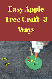Easy Apple Tree Craft: 3 Ways