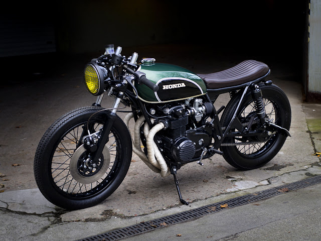 Honda CB550Four 1975 By Paal Motorcycles Hell Kustom