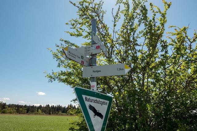 Wandertrilogie Allgäu Etappe 11  Bad Wurzach – Eintürnen  Wiesengänger Route 13