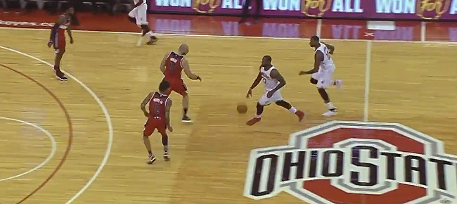 LeBron James' Performance At Ohio State In NBA Preseason! (VIDEO)