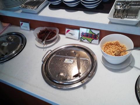 ビュッフェコーナー:カレー・スープ 札幌東急REIホテル サウスウエスト