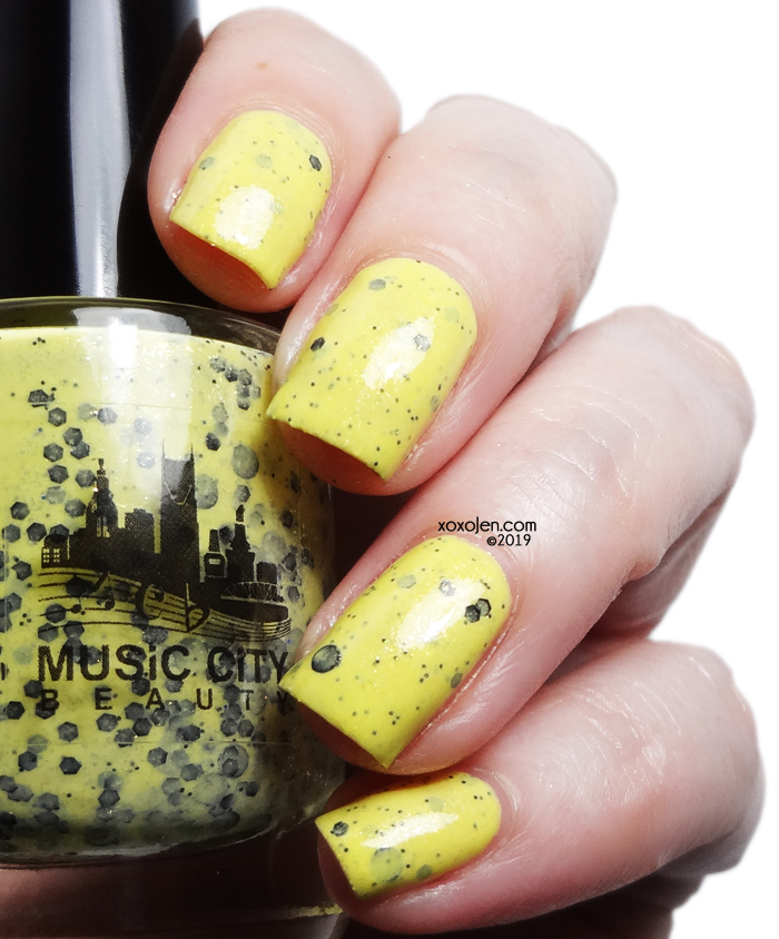 xoxoJen's swatch of Music City Beauty No Rain