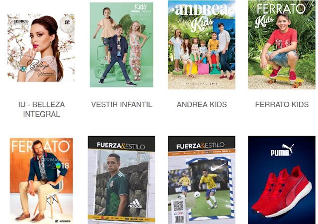 Catalogos Andrea 2018