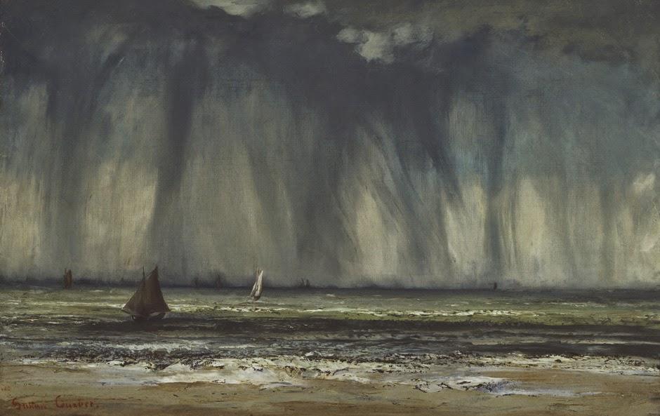 Gustave Courbet - Wasserhose, 1866