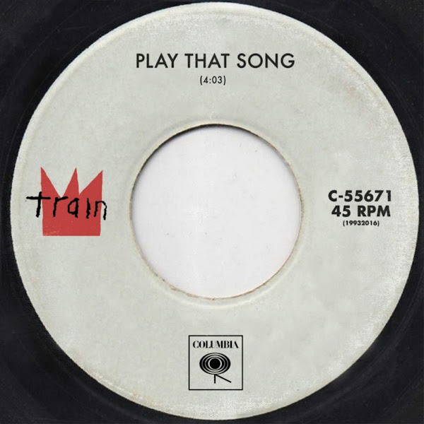 Train - Play That Song - Single Cover